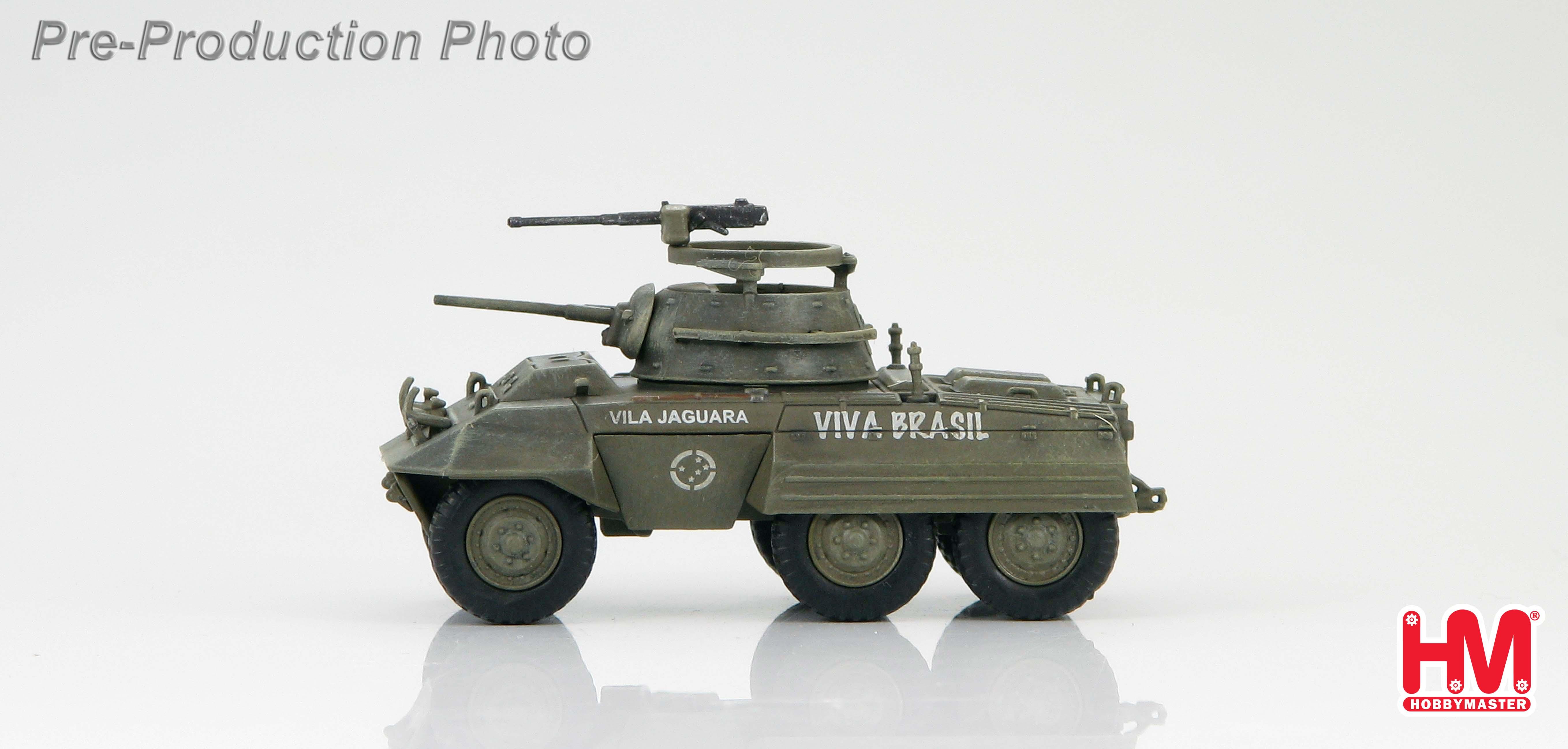 HG3808 Hobbymaster M8 Light Armoured Car First Brazilian