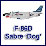 North American F-86D 'Sabre Dog'