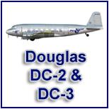 Hobbymaster Douglas DC2 and DC3