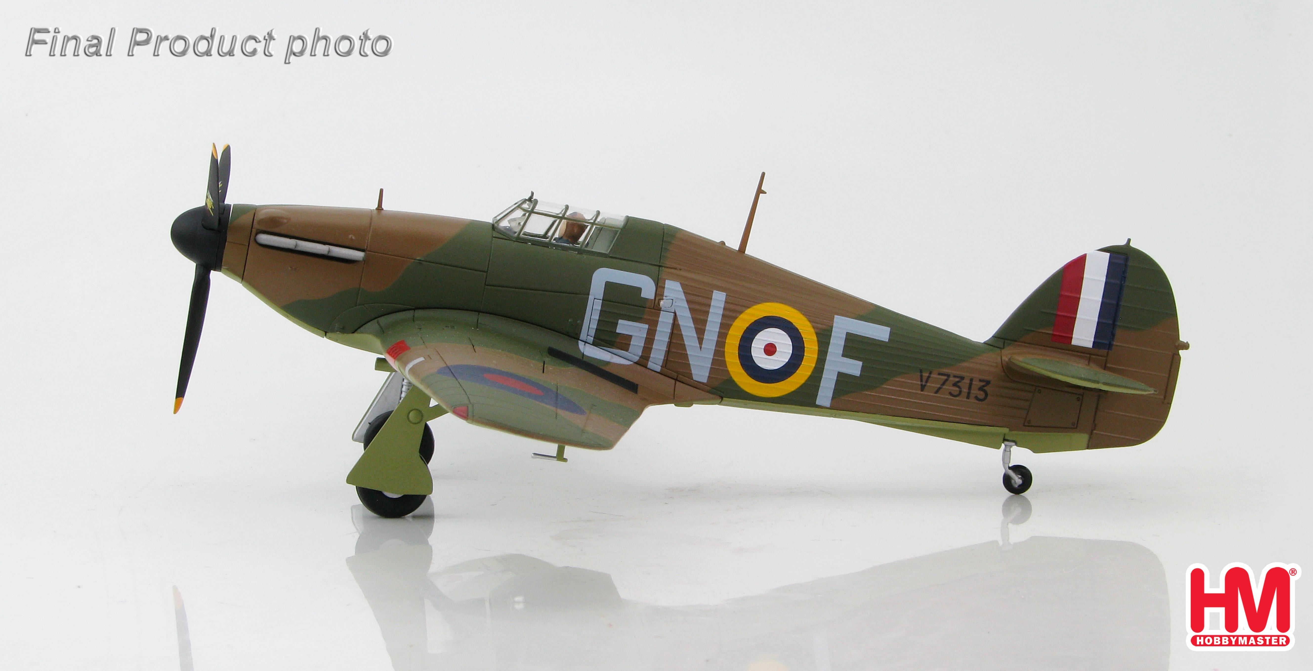 HA8604 Hawker Hurricane Mk.I GN-F, Plt Off Tom Neil, 249 Sqn., England 1940