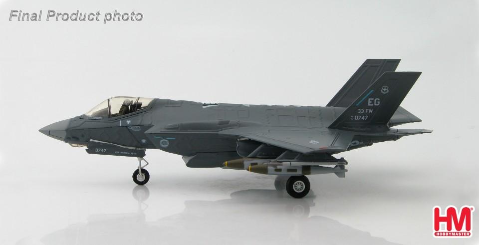 HA4407 Lockheed F-35A Lightning II AF 08-0747/EG, 58th FS, 33rd FW, July 2011