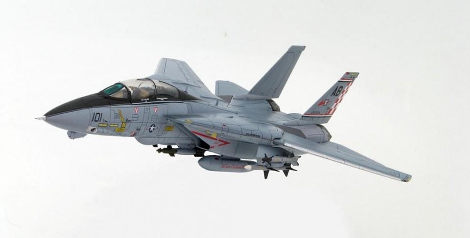 "HA5201 F-14A Tomcat U.S. Navy USS Enterprise (CVN-65) VF-211 ""Fighting Checkmates"" 2004"