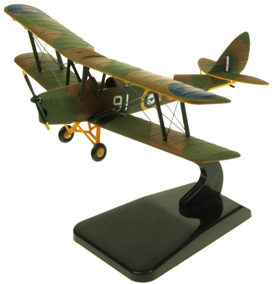 av7221003 aviation 72 dh82a tiger moth raf trainer t 6818. Black Bedroom Furniture Sets. Home Design Ideas