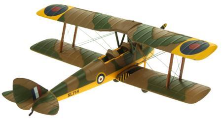 AV7221002 DH82A TIGER MOTH RAF TRAINER XL714