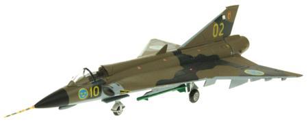 AV7241002 SAAB DRAKEN J35J 10/02 SWEDISH AIR FORCE RRP £42.00 £35.99