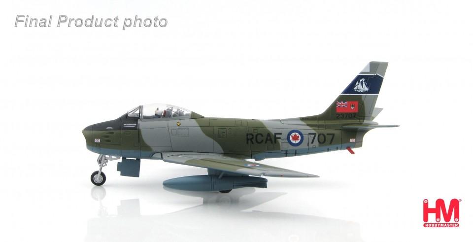 """HA4305 Canadair Sabre Mk.6 23707, 434 """"Bluenose"""" Squadron, RCAF, 1950s"""
