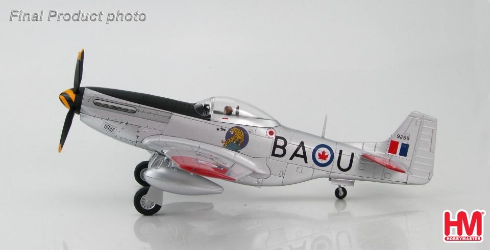 HA7733 P-51D Mustang #9255/BA-U, No. 424 Sqn., RCAF, Mount Hope, Ontario. 1950s