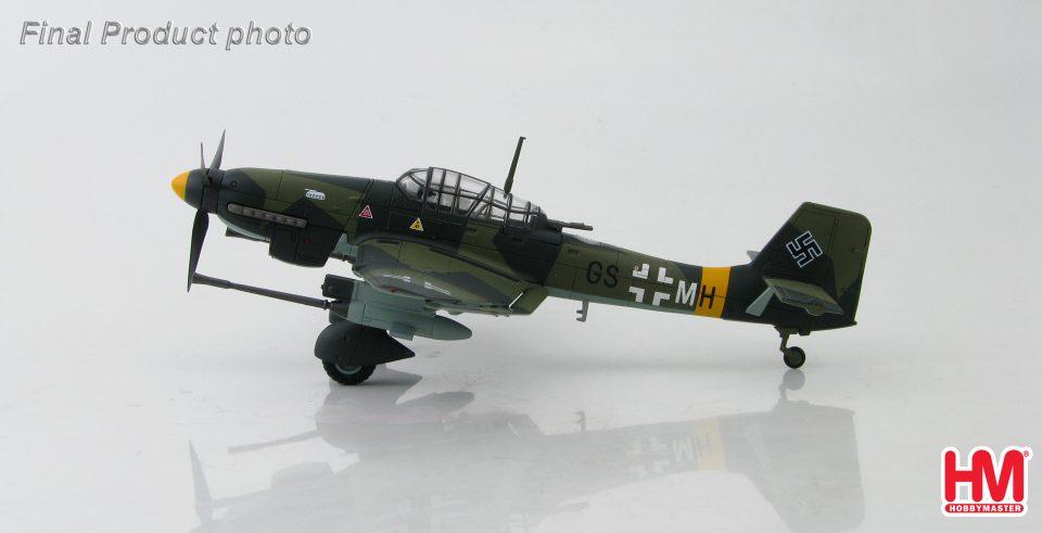 HA0158 Hobbymaster Ju-87 G-1 GS+MH, 10.(Pz)/SG 1, Dubno, Ukraine June 1944