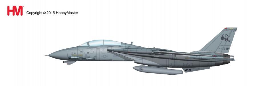 "HA5202 Grumman F-14D Tomcat BuNo 159600, VF-31 Sept '05-MAR.'06, Final Cruise ""Christine"""