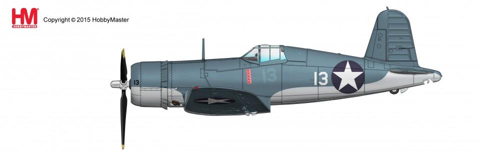 HA8214 F4U-1 Corsair No. 13, Lt Kenneth Walsh, VMF-124 Munda 1943