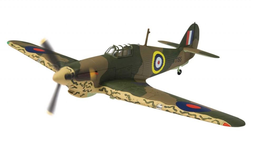AA27604 Hawker Hurricane Mk.I V7795 Plt. Off W Vale, RAF No.80 Squadron, Maleme, Crete 1941