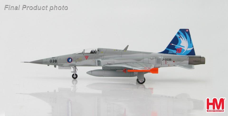 "HA3322 Northrop F-5E Tiger II J-3038 , Staffel 19 ""75 Jahre"", 2014"