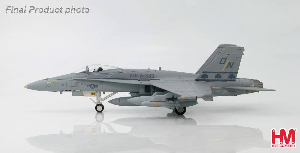 "HA3519 McDonnell Douglas F/A-18A+ Hornet VMFA-333 ""The Fighting Shamrocks"", late 1980s"