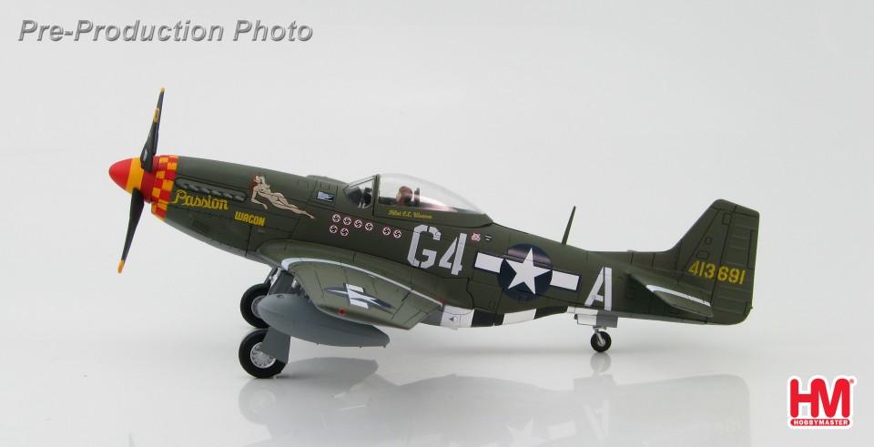 "HA7727 P-51D Mustang 413691 ""Passion Wagon"", Capt. Charles E ""Chuck"" Weaver 362nd FS, 357th FG, 1944"