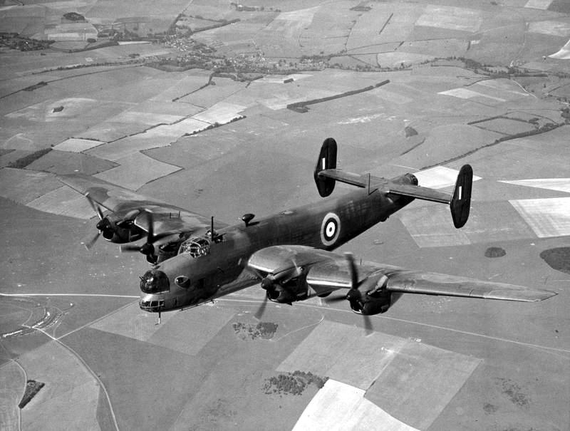 Handley Page Halifax MkI 1940 second prototype