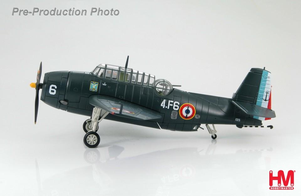 HA1212 Grumman TBM-3E Avenger Flotille 4F, Karouba 1953