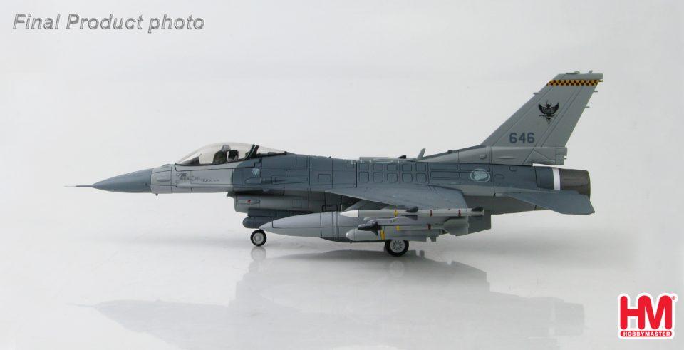 HA3839 Hobbymaster Lockheed F-16C Fighting Falcon 646, 143 Sqn., RSAF, Singapore