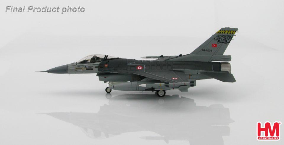 HA3840 Hobbymaster Lockheed F-16C Turkish MiG-23 Killer 91-0008