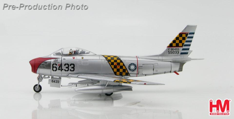 HA4351 Hobbymaster F-86F Sabre 6433, 1st TFW, ROCAF