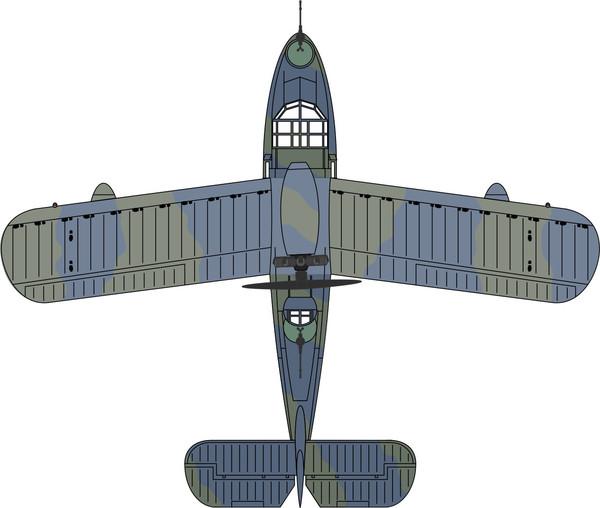 72SW002 Oxford Diecast Supermarine Seagull / Walrus RAF 276