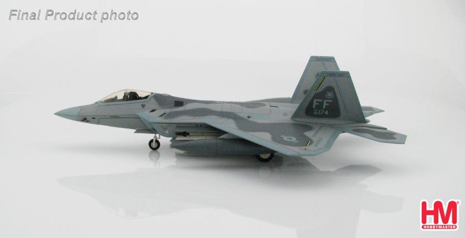 """HA2815 Hobbymaster Lockheed F-22 Raptor """"Maloney's Pony"""" 09-4174, 27th FS, Nov 2015"""