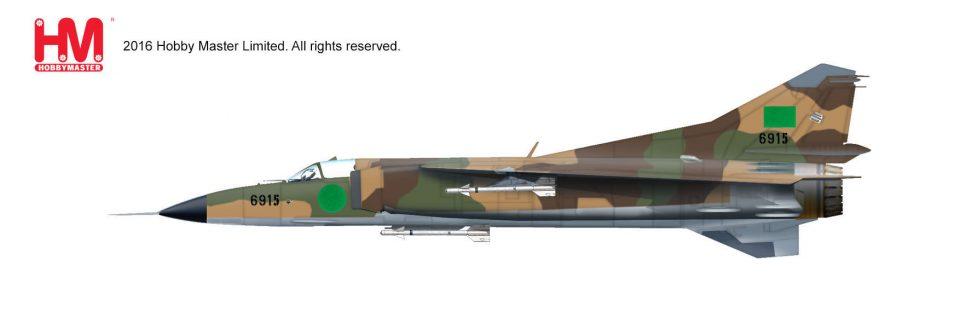 HA5302 Hobbymaster MIG-23MS 6915, Libyan Air Force 1980s
