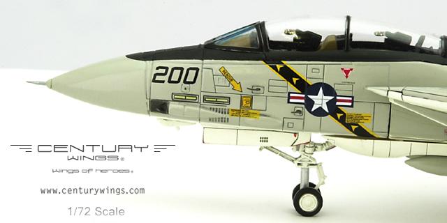 "CW001619 Century Wings Grumman F-14A Tomcat VF-84 Jolly Rogers AJ200 1978 ""Landing Configuration"""