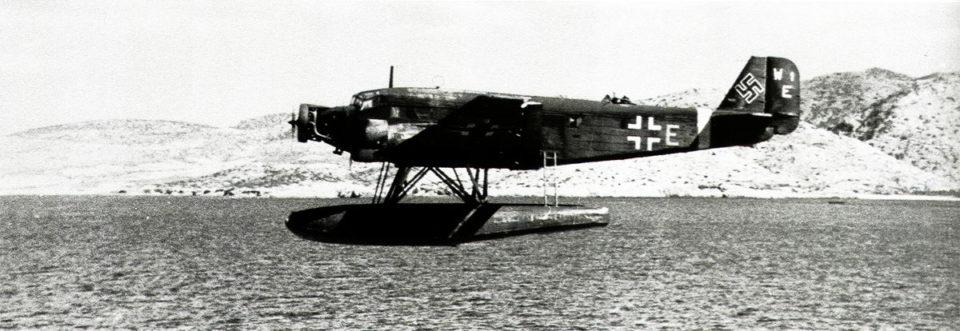 Junkers Ju-52 3mg6e(W) Seetransportstaffel 1 8A+EJ W1E Crete Mediterranean 1943