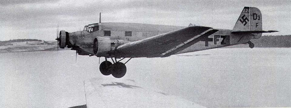 Junkers Ju 52 KGrzbV1 (IZ+FZ) supply duties Stalingrad Russia 1943