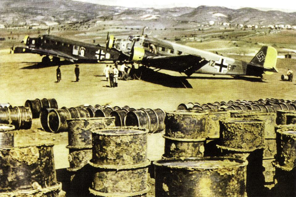 Junkers Ju 52 3m Stab IV.KGrzbV1 (1Z+BF) Milos Greece May 1941