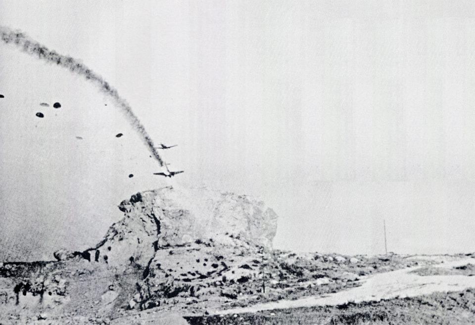 Merkur Crete / Junkers Ju 52 3MG4E shot down during the invasion of Crete 1941