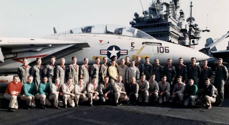 VF-1 aboard USS Ranger CV 61 - 1991