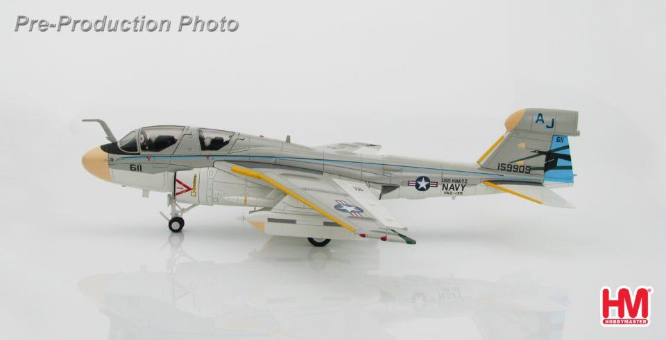 "HA5003 Hobbymaster Grumman EA-6B Prowler 159909, VAQ-135 ""Black Ravens"" USS Nimitz, 1978"