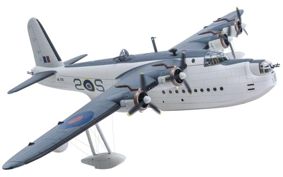 AA27502 Corgi Aviation Archive Short Sunderland Mk.III ML788/2-S, No.422 Squadron RCAF, Pembroke Dock