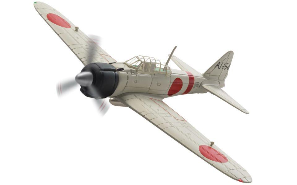 AA33108 Corgi Aviation Archive Mitsubishi A6M2 Zero, AI-I54 s/n.5289, Petty Officer 1st Class Takashi Hirano, IJN Aircraft Carrier Akagi, Pearl Harbor attack, 7th December 1941
