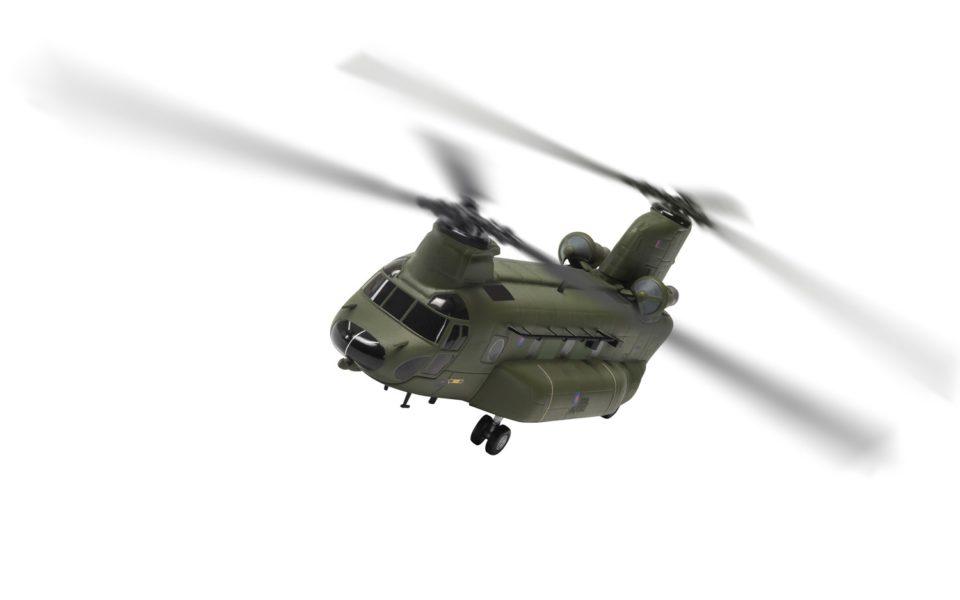 AA34213 Corgi Aviation Archive Boeing Vertol Chinook HC.3, ZH904, RAF No.18 Squadron, Odiham, 2012