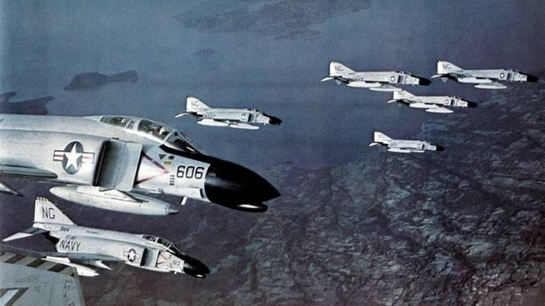 Fighter Squadron VF-96 Fighting Falcons F-4B Phantom