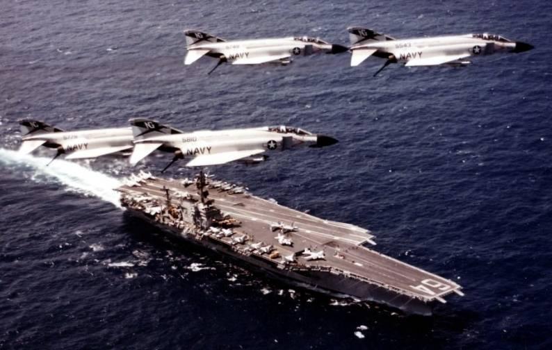 F-4J Phantom Fighter Squadron VF-96 Fighting Falcons CVW-9 USS Constellation