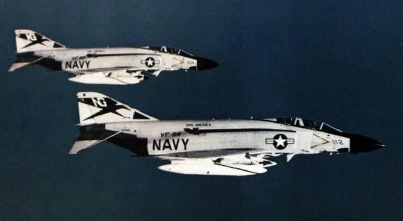 VF-96 Fighting Falcons CVW-9 USS America CVA 66 1970