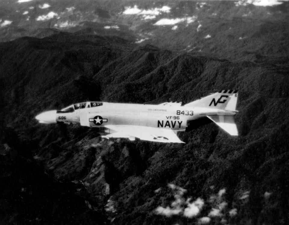 F-4B Phantom II VF-96 over Laos c1966