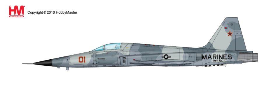 """HA3325 Hobbymaster Northrop F-5E Tiger II 730855, VMFT-401 """"Snipers"""" June 2006"""