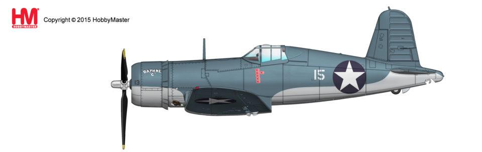 HA8215 Hobbymaster F4U-1 Corsair No.15 James N Cupp, VMF-213, 1943