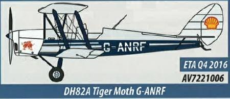 AV7221006 Aviation 72 DH82a TigerMoth G-ANRF