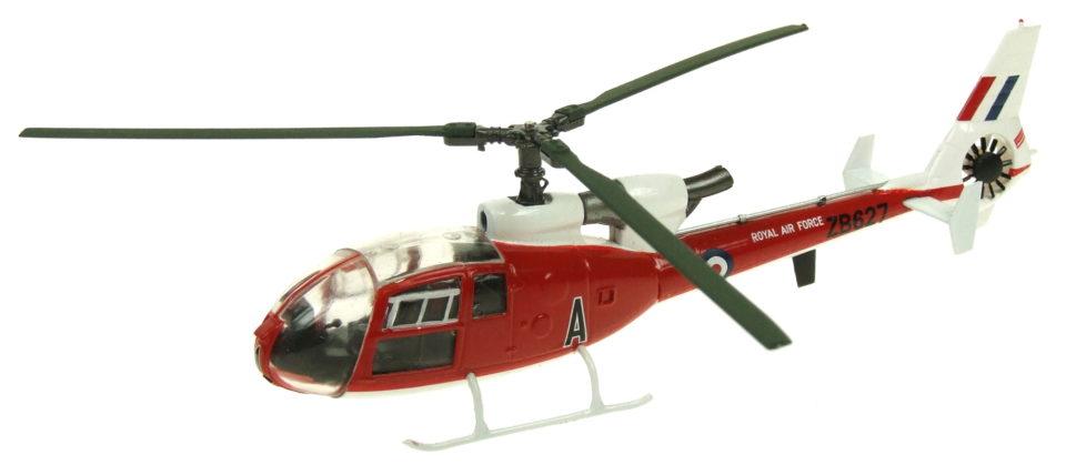 AV7224006 Aviation 72 Westland Gazelle HT.3 RAF 2FTS ZB627