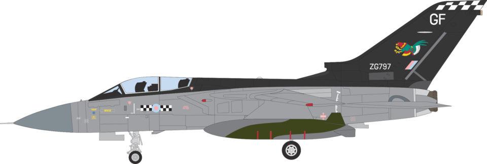 AV7251002 Aviation 72 Panavia Tornado F3 ZG797 43 Sqn. RAF Leuchars Fighting Cocks