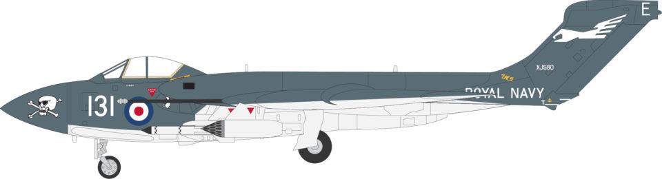 AV7253001 Aviation 72 Sea Vixen FAW 2 XJ580 Tangmere