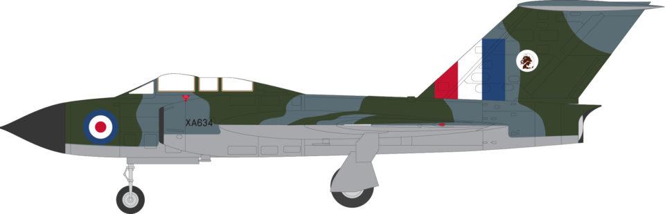 AV7254001 Aviation 72 Gloster Javelin FAW 4 XA634 (Ex-Leeming) Jet Age Museum