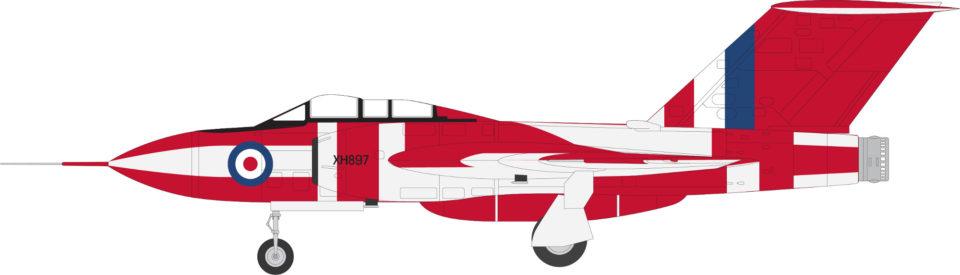 AV7254002 Aviation 72 Gloster Javelin FAW 9 XH897 Preserved Duxford