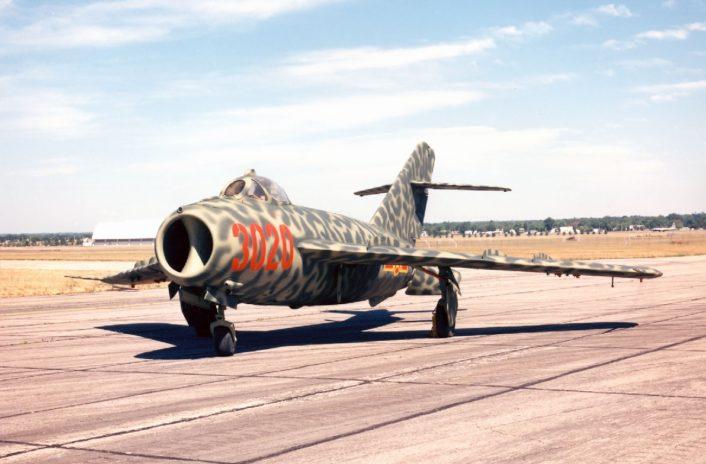 MiG 17 Fresco Vietnamese Airforce