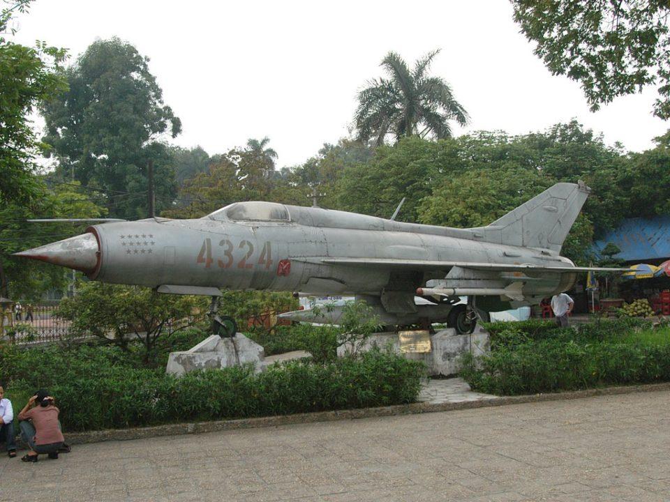 MiG 21 Hanoi museum Vietnam